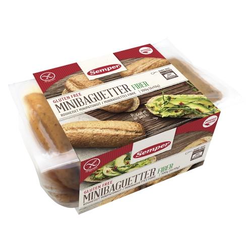 Image of Baguette mini glutenfri 300gr Semper