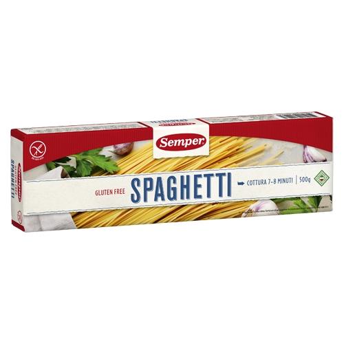 Image of   Spaghetti glutenfri 500gr Semper