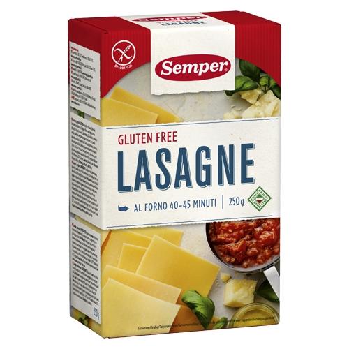 Image of   Lasagne glutenfri 250gr Semper