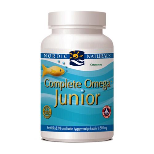 Complete Omega junior med citrussmag 90 kap fra Nordic Naturals
