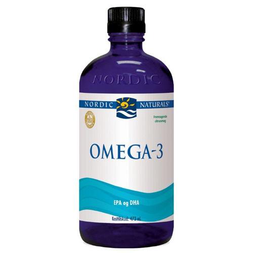 Omega 3 m. citrussmag 474ml fra Nordic Naturals