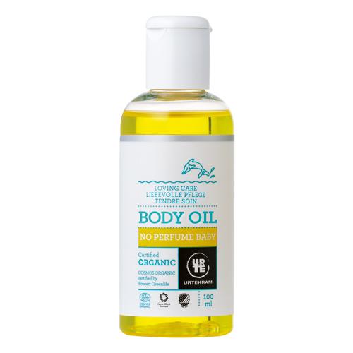 Image of   Baby krops olie No perfume 100ml fra Urtekram