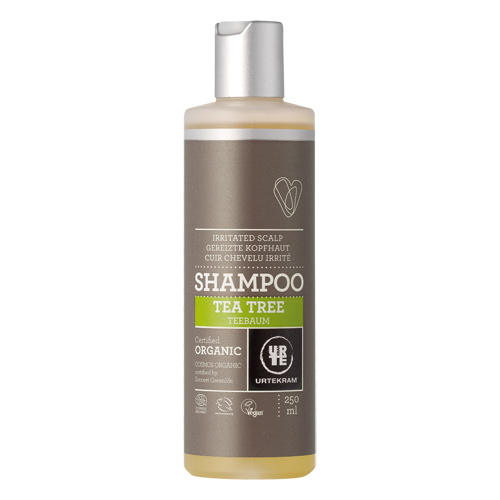 Image of   Tea Tree shampoo økologisk Urtekram (250ml)