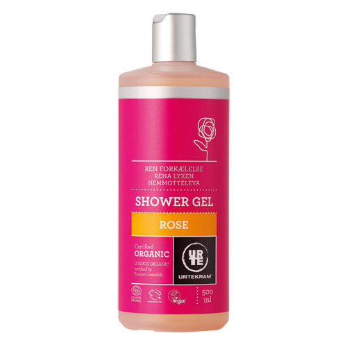 Rose showergel økologisk 500 ml