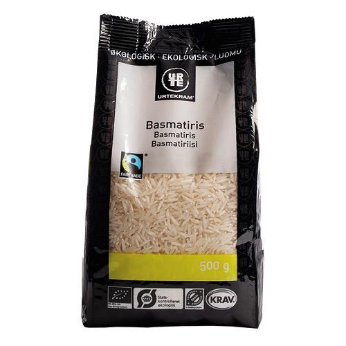 Image of Basmati hvide Økologisk ris Himalaya FairTrade 500 gr