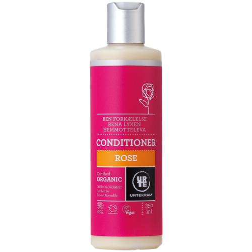 Rose hårbalsam økologisk 250 ml fra Urtekram