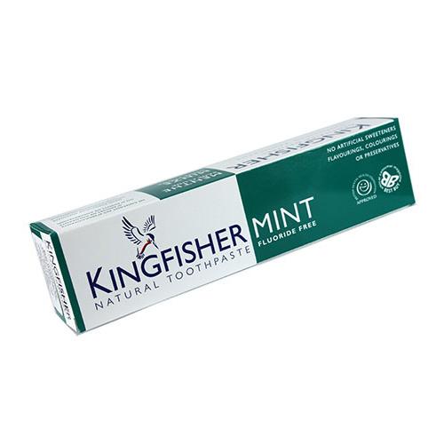 Image of   Kingfisher tandpasta Mynte uden fluor
