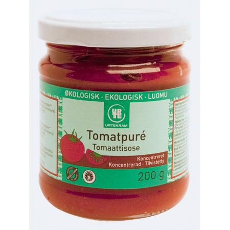 Tomatpure koncentreret økologisk 200 gr fra Urtekram