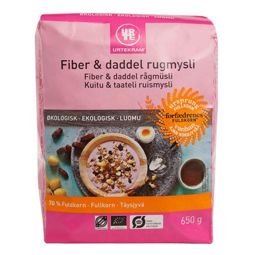 Mysli rug fiber & daddel 650gr