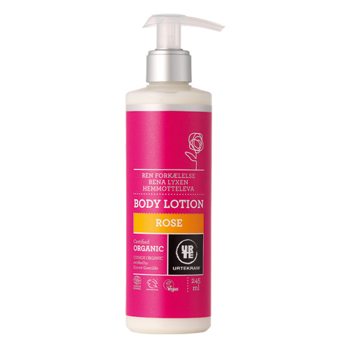 Image of   Rose bodylotion økologisk 245ml Urtekram
