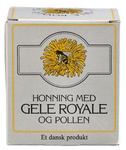 Image of Honning m. gele royale 250gr. fra Mosehuset