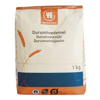 Durum hvedemel økologisk 1kg. fra urtekram