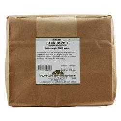 Image of   Lakridsrod skåret 1000 gr fra Naturdrogeriet