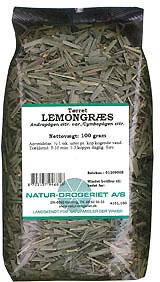 Image of   Lemongræs 100 gr fra Naturdrogeriet