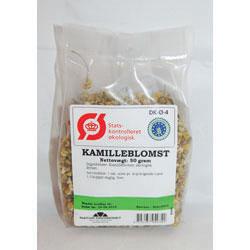Image of   Kamilleblomst økologisk 50 gr fra Naturdrogeriet