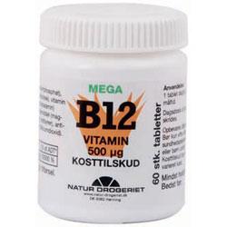 Image of   B12 mega vitamin 500 ug