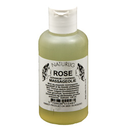 Image of   Rosen massageolie 100 ml fra Rømer