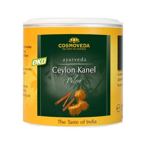Kanel pulver (Ceylon) 80gr fra Cosmoveda