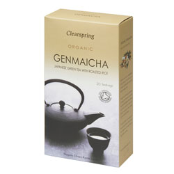Image of   Genmaicha te i breve 50gr Clearspring