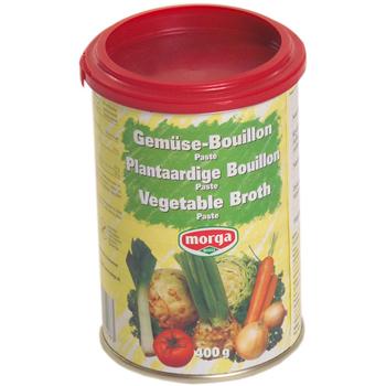 Image of Grøntsagsbouillon uden gærekstrakt glutenfri 400gr fra Morga