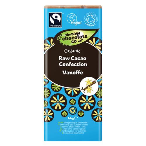 Tilbud på Vanoffe raw chokolade 44gr