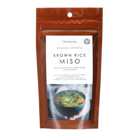 Miso Brown Rice økologisk 300gr fra Clearspring