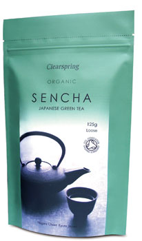 Sencha grøn the 125gr Clearspring