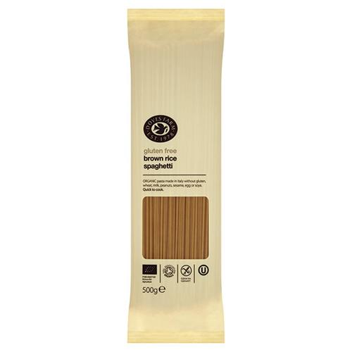 Image of   Brun Ris Spaghetti 500gr glutenfri fra Doves Farm