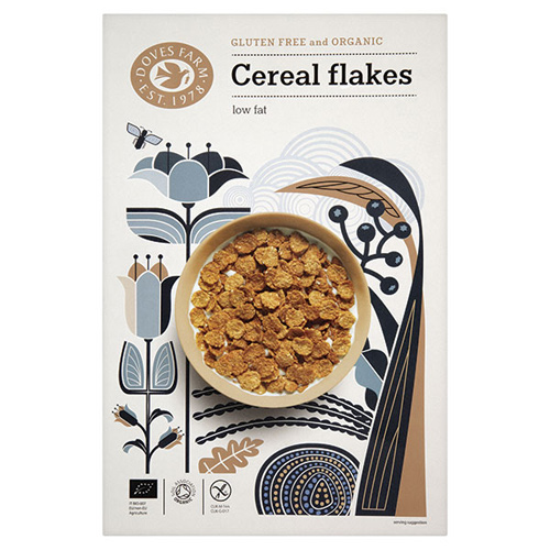 Image of   Cereal Flakes 375gr glutenfri fra Doves Farm