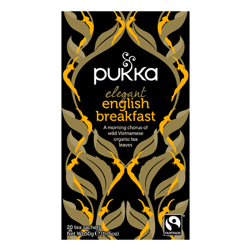 Elegant English Breakfast te 20br Pukka