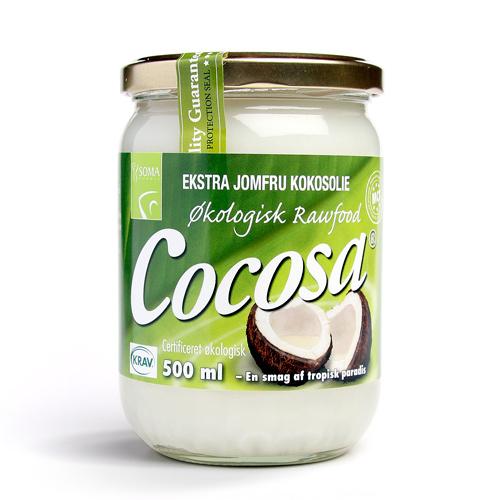 Billede af Cocosa extra jomfru kokosolie ,som smør 500ml