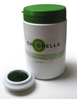 Image of   Algomed Chlorella pulver 350gr