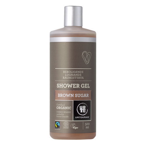 Brown Sugar shower gel økologisk 500 ml