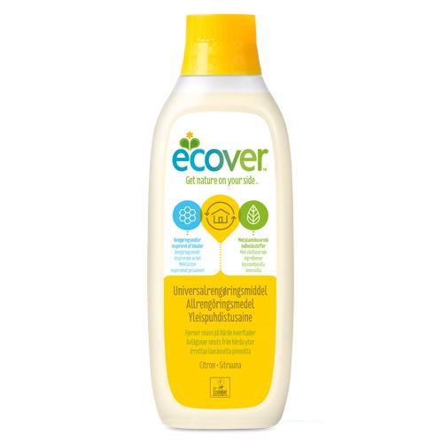 Tilbud på Universalrengøring lemon 1000ml fra Ecover