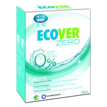 Tilbud på Vaskepulver hvid 750gr fra Ecover
