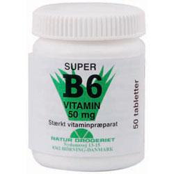 Image of   B6 vitamin 50 mg 50 tab