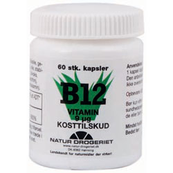 Image of   B12 vitamin 9 ug 60 tab