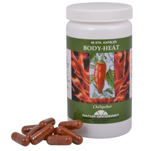 Image of   Body Heat kapsler 90 kap
