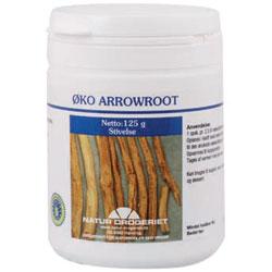 Image of   Arrowroot økologisk 100 gr pulver fra Naturdrogeriet