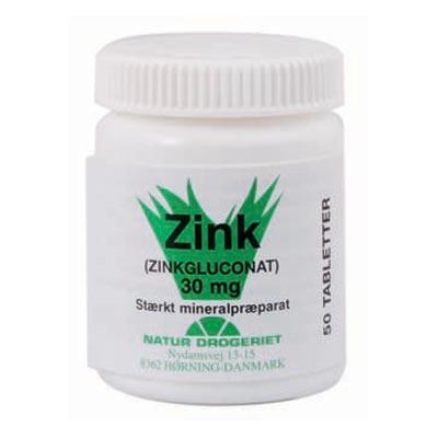 Image of   Zink 30 mg 50 tab