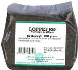 Image of   Loppefrø 100 gr fra Naturdrogeriet