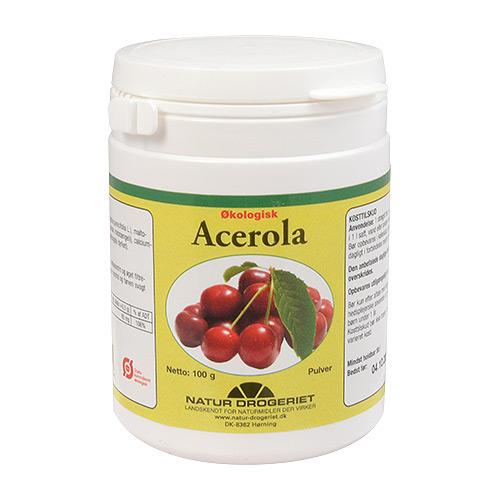 Image of   Acerola C-pulver 100gr økologisk fra Natur drogeriet