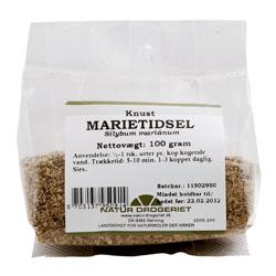 Image of   Marietidsel knust 100 gr fra Naturdrogeriet