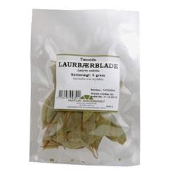 Image of   Laurbærblade hele 5 gr fra Naturdrogeriet