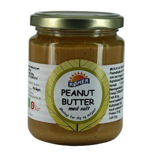 Peanut Butter økologisk 250 gr fra Rømer