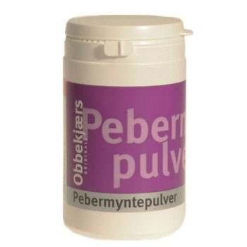 Image of   Obbekjærs Pebermyntepulver 170 gr