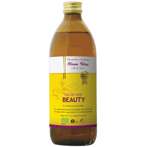 Oil of life Beauty økologisk 500ml