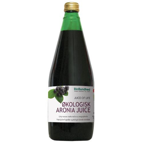 Image of Aronia saft u. sukker Økologisk 700 ml