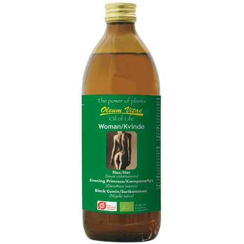 Oil of life kvinde økologisk 500 ml