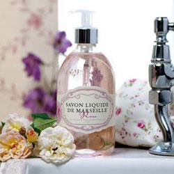 Rose håndsæbe 500ml fra Savon Liquide de Marseille